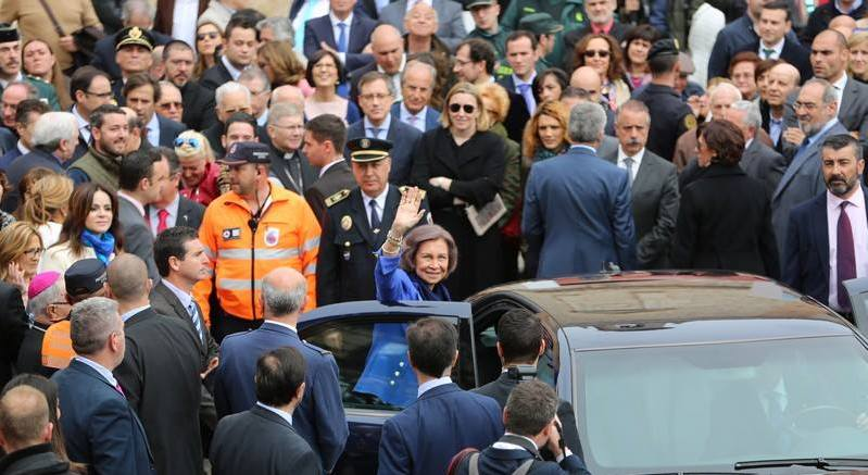 La Reina Sofía inaugura AQVA