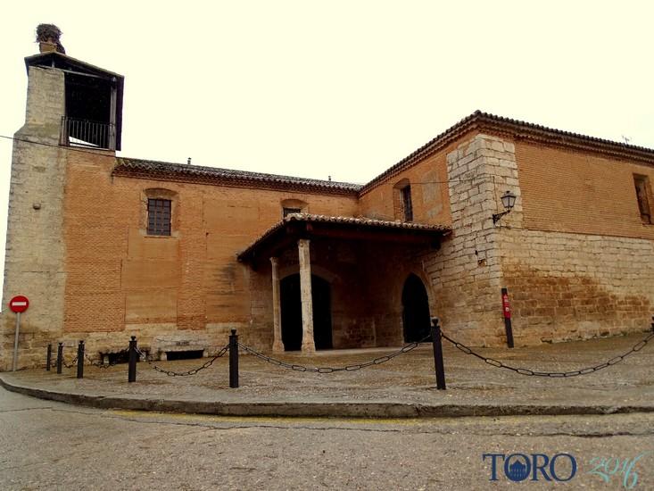 Foto de la iglesia de Santa Catalina actualmente tras su reconstrucción